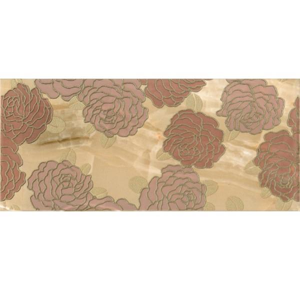 Antares Декор 2 коричневый 20x45