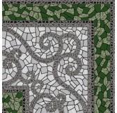 Византия зеленый 30*30 (СНЯТО С ПРОИЗВОДСТВА)