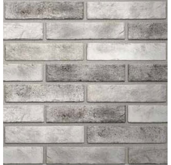 Brickstyle Seven tones плитка облиц серый  6*25