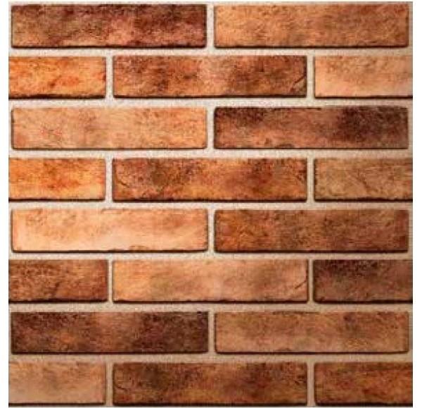 Brickstyle Seven tones плитка облиц оранжевый  6*25