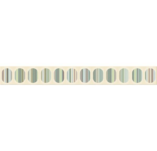 Boho Бордюр Verde Geometry 7.5x63 n054193
