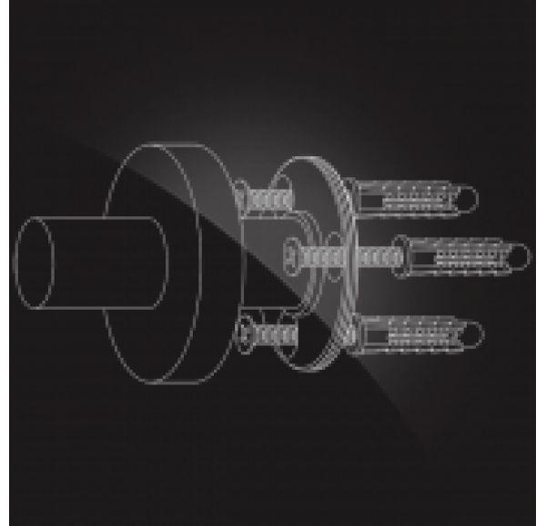 KENTUCKY KNT-455  Мыльница металлическая