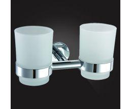 KENTUCKY KNT-420 Держатель стаканов двойной, стекло