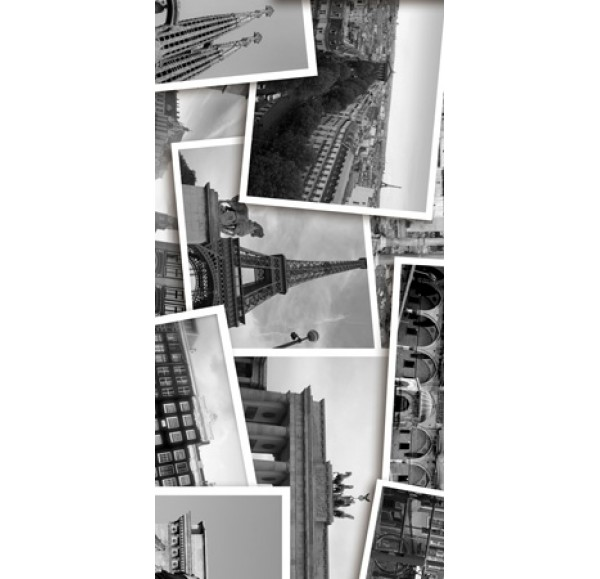 Absolute Collage декор-3  черно-белый 30*60