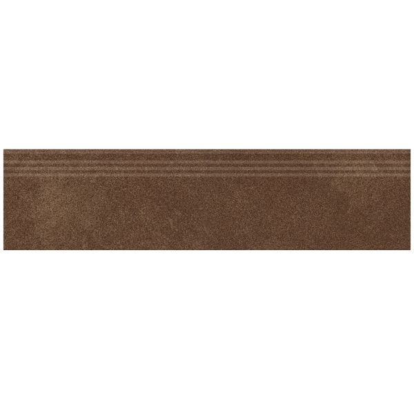 Ступень Кодру Шоколад MR с насечками 30х120