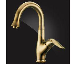 Scharme Смеситель для умывальника однорычажный 1605601-Bronze