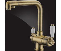 Terrakotta Смеситель для кухни для фильтра 56A5740-Bronze