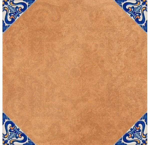 Andalusia декор напольная терракотовый 40*40 (СНЯТО С ПРОИЗВОДСТВА)
