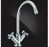 Ecoflow  Смеситель для кухни двухвентельный, хром 5902880