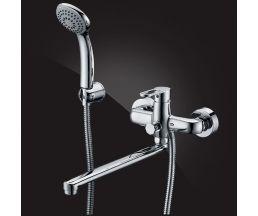 Ecoflow Alpha  Смеситель для ванны однорычажный с д/к 5350207
