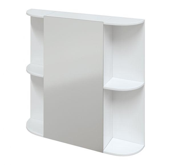Гляссе 80 зеркало-шкаф, левый
