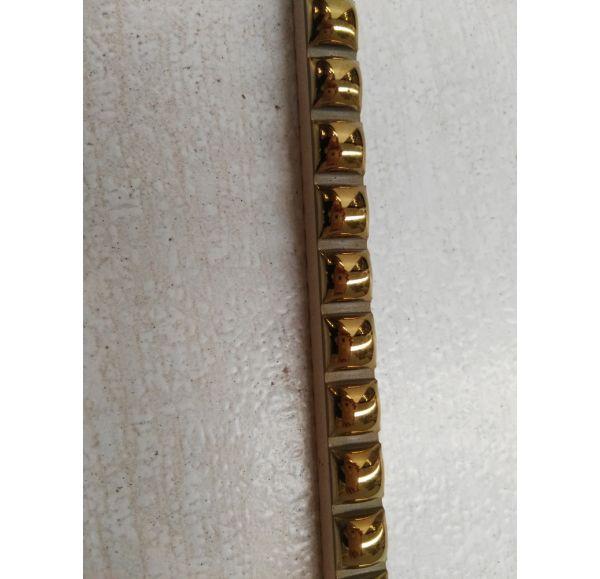 Бусинки бордюр золотые 10*300