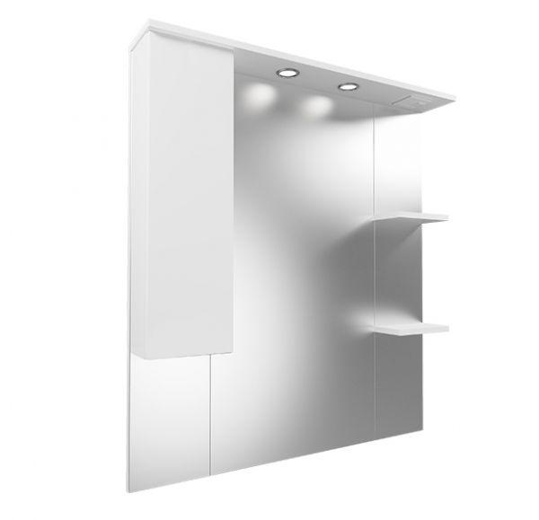 Next 80 зеркало-шкаф левый