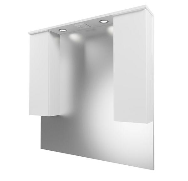 Next 100/2 зеркало-шкаф  2 ящика