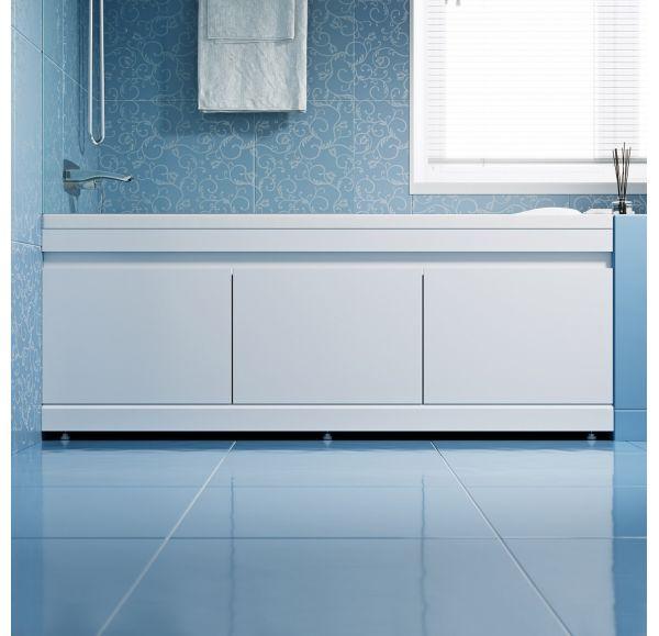 Экран под ванну 1,5 м МДФ Soft белый