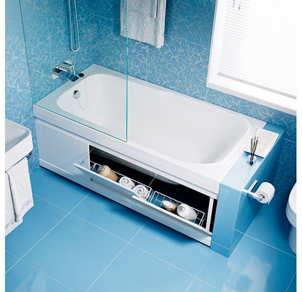 Экран под ванну 1,7 м МДФ Soft белый