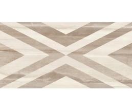 Savoy Geometry декор коричневая (ромбы) 30*60