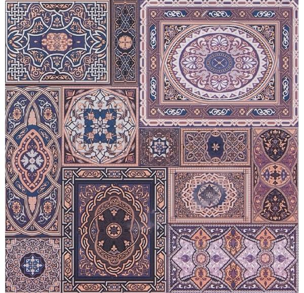 Aladdin М плитка напольная коричневая 40*40