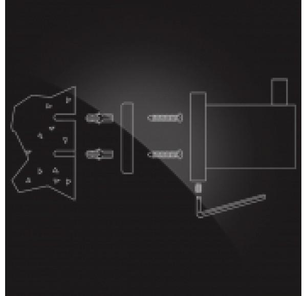 CARRINGTON CRG-205 Полка для полотенец с держателем