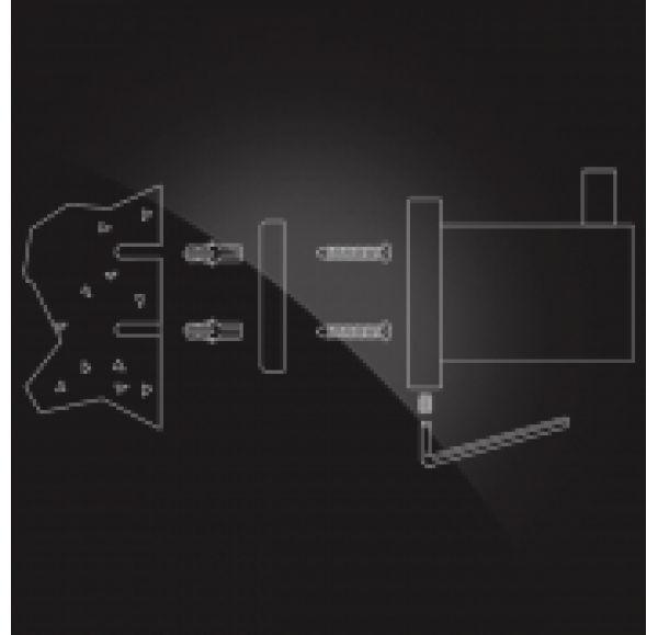 WORRINGEN WRG-205 Полка для полотенец с держателем