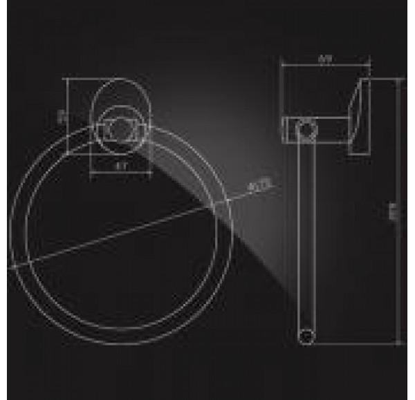 WORRINGEN WRG-875 Кольцо для полотенца