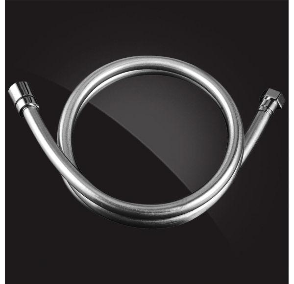 Шланг душевой армированный ПВХ 150 см SH012-Silver-New