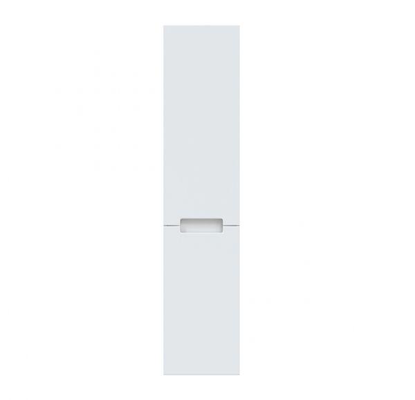 AURA 340 пенал левый подвесной белый