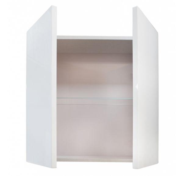 Шерил шкаф двухстворчатый белый 1A206603SH010
