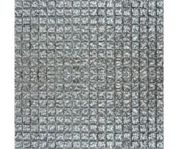мозаика стеклянная 628 моно платина 300*300 мм