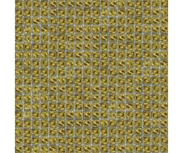 мозаика стеклянная 636 моно золото 300*300 мм