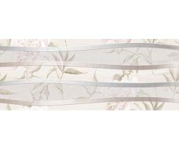 Декор 20*50 Турин светло-бежевый цветок
