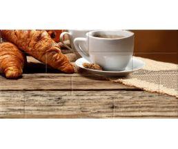 Панно 30*60 Брик Кофе 4 кремовый