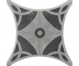 TEXAS GR 1 серый декор 10*10