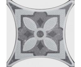 TEXAS GR 4 серый декор 10*10