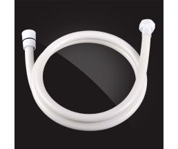 Шланг душевой армированный ПВХ 150 см SH012-WhitePlus
