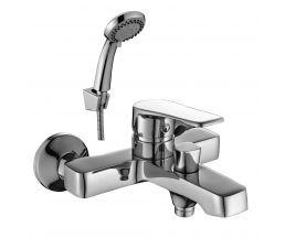 DR39036 Смеситель одноручный  для ванны с коротким изливом, хром