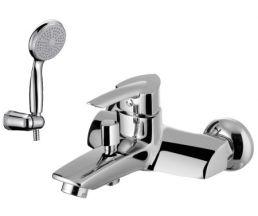 """LM3502C """"Марс"""" Смеситель для ванны, с коротким изливом, с аксессуарами, хром"""