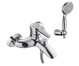 """LM3202С """"Атлантисс"""" Смеситель для ванны с коротким изливом, хром"""