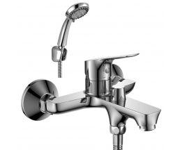RS29-31 Смеситель одноручный (35мм) для ванны с коротким изливом, дивертор с керамическими пластинам