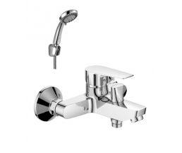 S35-31 Смеситель одноручный (35 мм)  для ванны с коротким изливом, хром