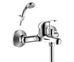 Y35-31 Смеситель одноручный (35 мм) для ванны с коротким изливом, хром