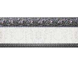 10x25 Cenefa Alba Platino бордюр настенный