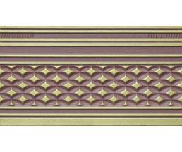 14x25 Zocalo Alhambra Wengue бордюр настенный