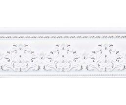 10x25 Cenefa Jeddah Platino бордюр настенный