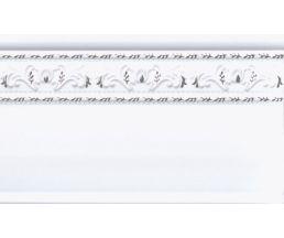 15x25 Zocalo Jeddah Platino бордюр настенный