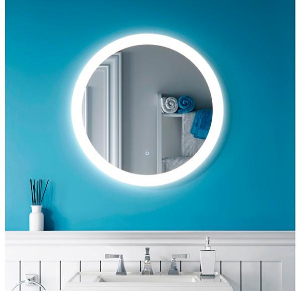 RING 60*60 зеркало круглое без рамки