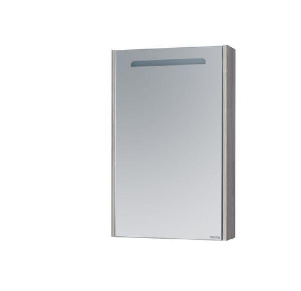 Сильва 60 зеркало-шкаф дуб фьорд 1A216202SIW60