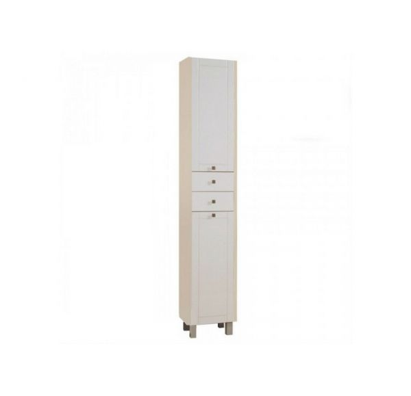 Альпина 65 шкаф-колонна с б/к дуб молочный 1A133603AL530