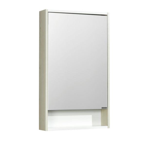 Рико 50 зеркальный шкаф Белый/ясень фабрик 1A212302RIB90
