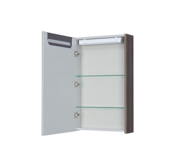 Сильва 50 зеркало-шкаф дуб макиато 1A215502SIW5L